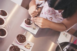 Preparation cake