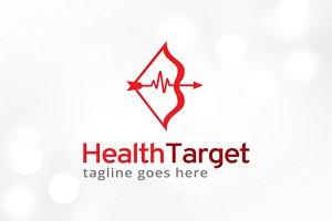 Health Target Logo Template Design