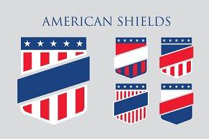 American shield set