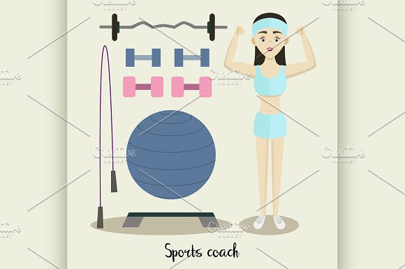 Coach Sport With Standing Position