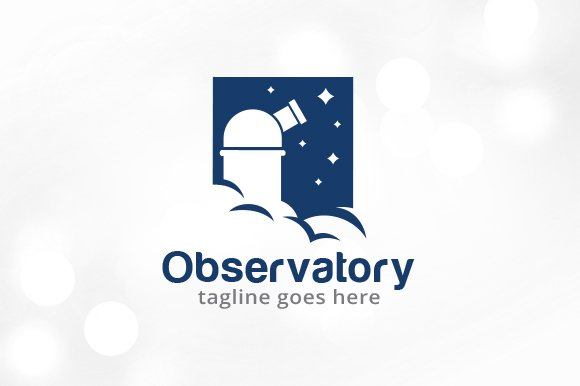 Observatory Logo Template Design