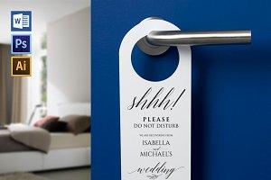 Wedding Door Hanger SHR21