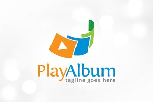 Play Album Logo Template Design