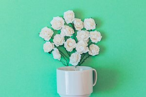 roses in a Cup