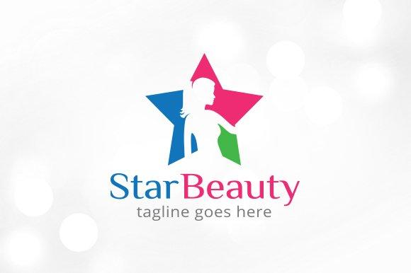 Star Beauty Logo Template