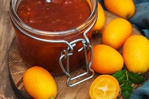 Delicious kumquat  jam