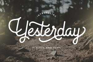 Yesterday Typeface
