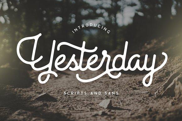 Yesterday Typeface