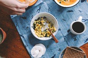 Summer Evening Sweet Potato Soup