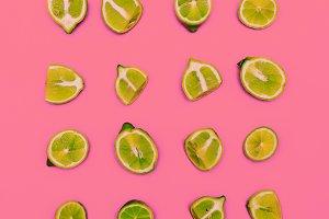Minimal idea food creative Lime