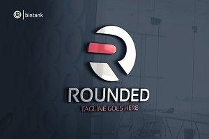 Rounded - Letter R Logo
