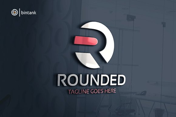 Rounded - Letter R Logo in Logo Templates