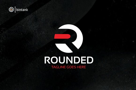 Rounded - Letter R Logo in Logo Templates - product preview 2