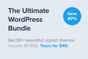 Ultimate WordPress Bundle (Save 97%)