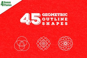 45 Geometric Shapes
