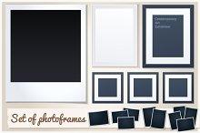Set of Photoframes