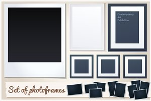 Set of Photoframes