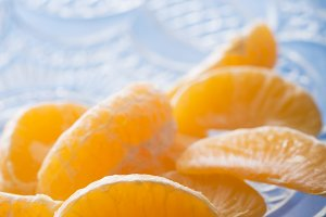 Mandarin orange sections