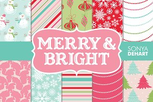 Merry & Bright Christmas Papers