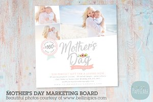 IM025 Mother's Day Marketing Board