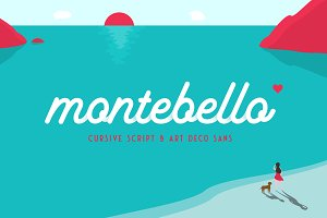 Montebello - Script Typeface