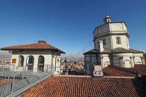 Monte Cappuccini church in Turin