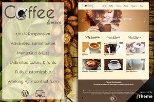 Coffee - Coffee Shop WordPress Theme