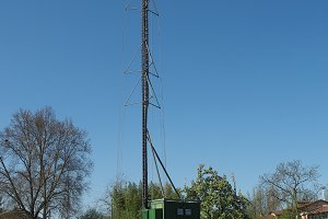 aerial antenna tower