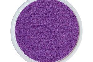 Purple plastic token money