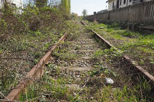 disused railway tracks