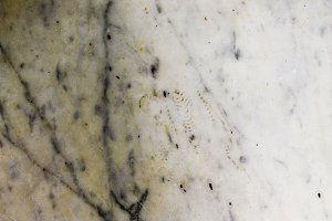 White and Grey Marble Detail