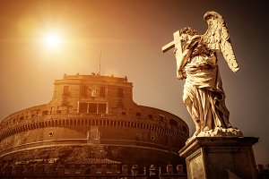 Castel Sant`Angelo in Rome