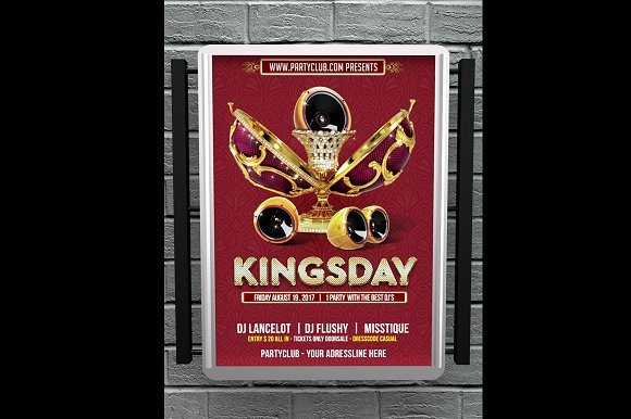 Kingsday Flyer