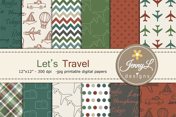 Travel Digital Papers