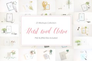 Neat and Clean Mockup Collection