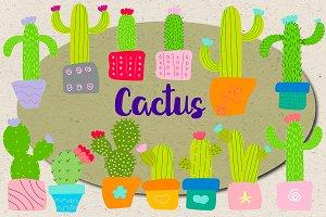 Cactus Doodle Pack