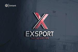Export - Letter X Logo