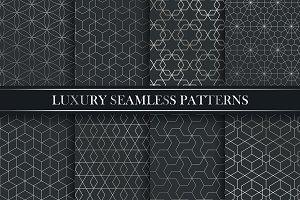 Lyxury seamless ornate patterns.