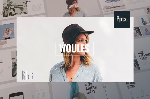 WOULES Powerpoint Template