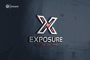Exposure - Letter X Logo