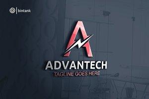 Advantech - Letter A Logo