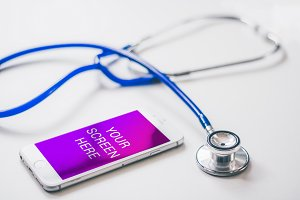 Iphone 6 Mockup - Healthcare