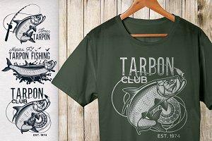 Vintage Tarpon Logo