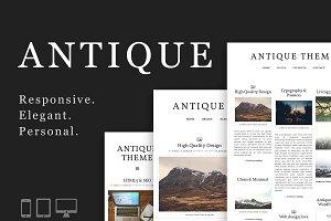 Antique: Responsive & Elegant Theme