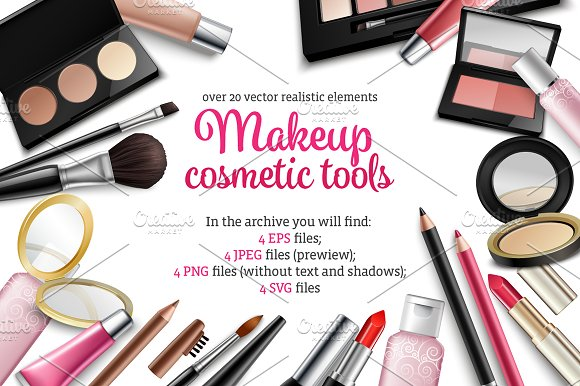 Makeup and Cosmetic Tools