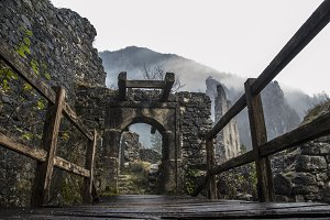 Gates of Abandoned Castle