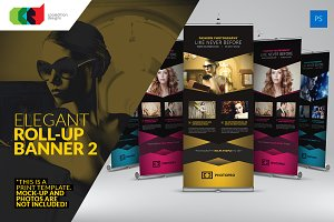 Elegant Roll-Up Banner 2
