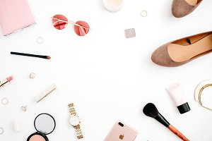 Beauty blog background
