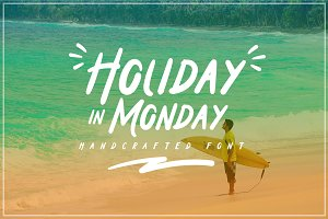 Holiday In Monday Intro 20% Off !!!