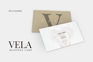Vela Business Card Template